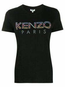 Kenzo embellished-logo T-shirt - Black