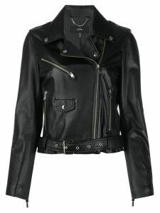 Arma Kylie belted waist jacket - Black
