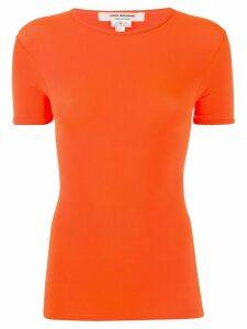 Junya Watanabe fitted T-shirt - ORANGE