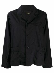 Comme Des Garçons Girl patch-pocket shirt jacket - Blue