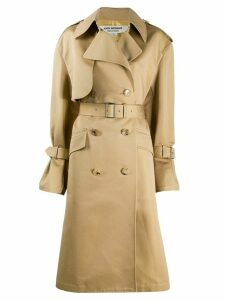 Junya Watanabe belted trench coat - NEUTRALS