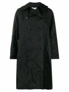 Comme Des Garçons Comme Des Garçons textured double-breasted coat -
