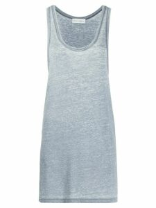 Faith Connexion dropped-armhole longline tank top - Blue