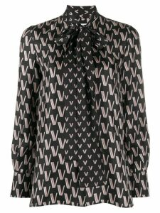 Valentino Double VLOGO shirt - Black