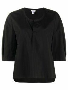 Comme Des Garçons Comme Des Garçons oversized half-sleeve blouse -