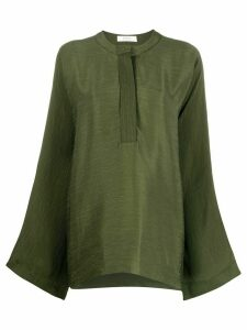 Áeron plain oversized blouse - Green