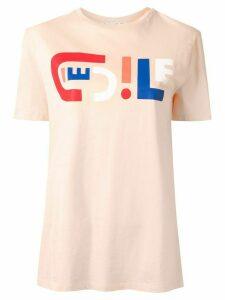 Être Cécile relaxed-fit logo T-shirt - PINK