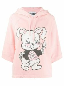 Moschino Don't Call Me Cute hoodie - PINK