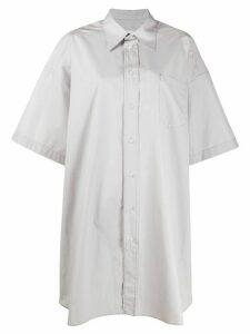 Maison Margiela oversized long shirt - Grey