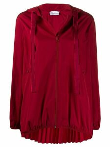 RedValentino A-line pleated zipped jacket