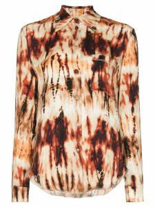 Nanushka Celes tie-dye shirt - Multicolour