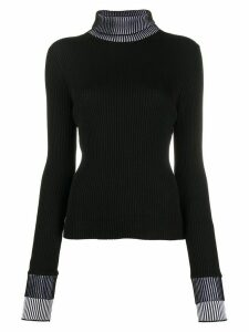 Maison Margiela fine knit jumper - Black