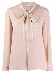 RedValentino pussy bow shirt - PINK