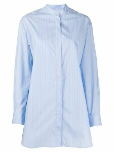 Rokh long striped shirt - Blue