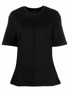 Joseph seam-detail boxy T-shirt - Black