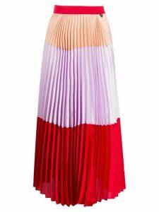 Twin-Set pleated midi skirt - PURPLE