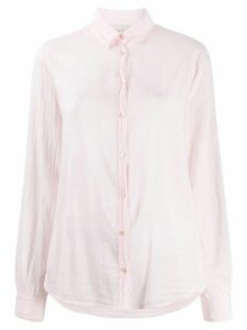 Forte Forte My Shirt crinkle shirt - PINK