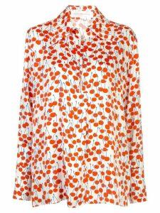 Victoria Victoria Beckham cherry-print shirt - White