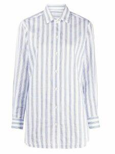 Victoria Beckham striped shirt - White