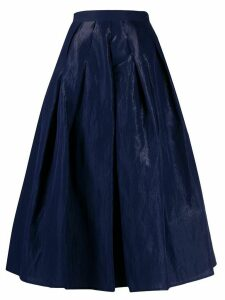 Fabiana Filippi full shape midi skirt - Blue