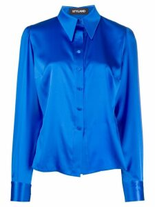 Styland pointed collar regular fit shirt - Blue
