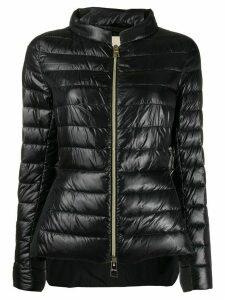Herno zipped up padded jacket - Black