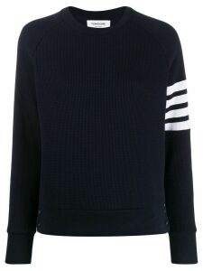 Thom Browne 4-Bar Raglan Sleeve Sweatshirt - Blue