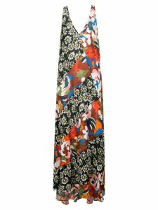 M Missoni print mix maxi dress - Multicolour