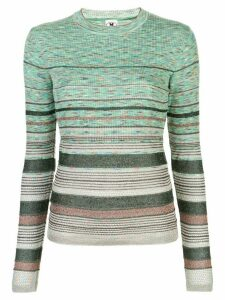 M Missoni abstract pattern jumper - Green
