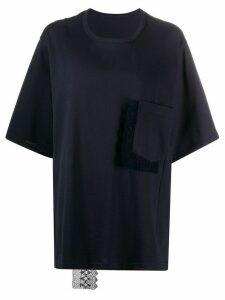 Y's oversized T-shirt - Blue
