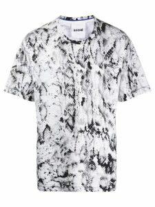 Koché python print T-shirt - Black