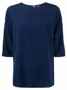 Aspesi 3/4 sleeve blouse - Blue