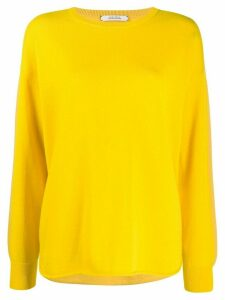 Dorothee Schumacher loose-fit cashmere jumper - Yellow