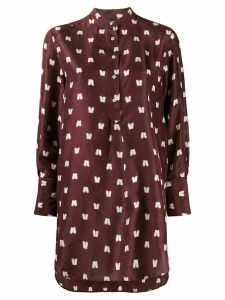 Aspesi polka print blouse - Red