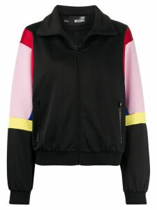 Love Moschino colour-block track jacket - Black