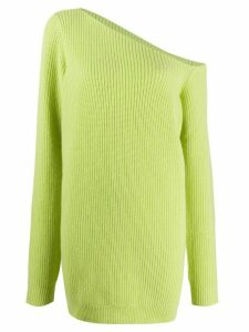 GAUGE81 Isa asymmetric cashmere jumper - Green