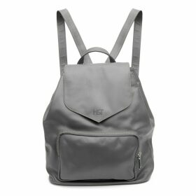 Holly & Tanager - Protege Leather Mini Backpack In Grey