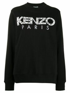 Kenzo logo print sweatshirt - Black