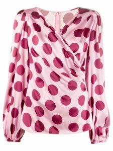 Dolce & Gabbana polka dots blouse - PINK