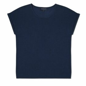 Meander Apparel - The Weekender Tee Navy Womens