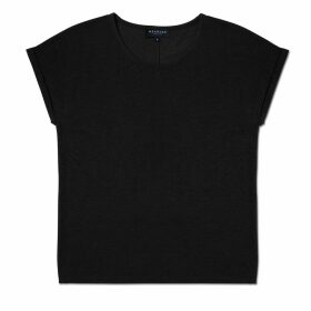 Meander Apparel - The Weekender Tee Black Womens