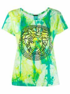 Versace tie-dye Medusa T-shirt - Green