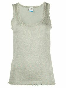 M Missoni metallic shimmer tank top - SILVER