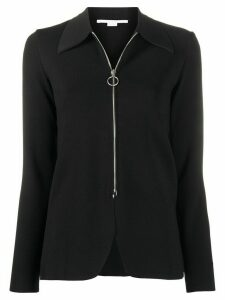 Stella McCartney collared zipped jacket - Black