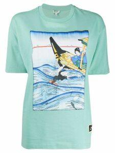 Kenzo printed T-shirt - Blue