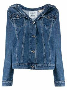 Levi's: Made & Crafted Shoulder Trucker denim jacket - Blue