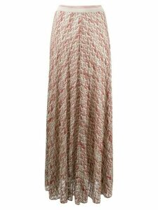 Missoni abstract print maxi skirt - PINK