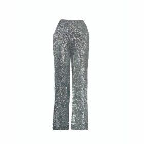 True Decadence - Pink Organza Cut Work Tiered Midi Dress