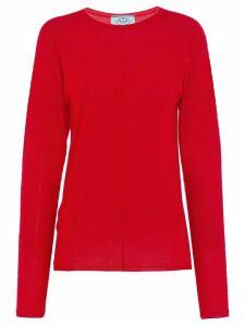 Prada lightweight jumper - Red