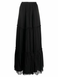 Federica Tosi tiered maxi skirt - Black